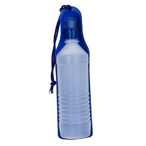 500 ml Botella De Agua De Plástico Para Mascotas