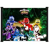 "Power Rangers Jungle Fury (TV) Show Fabric Wall Scroll Poster (21""x16"") Inches"