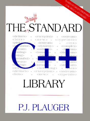 Draft Standard C++ Library, The