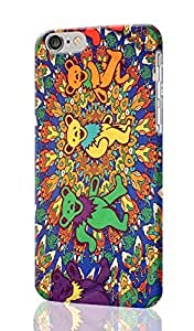 "SUUER Creative Article Series Grateful Dead Psychedelic iPhone 6 -4.7 inches Case , Designer Personalized Custom Plastic Hard CASE for iPhone 6 (4.7"") Durable New Style Rough Skin 3D Case Cover"