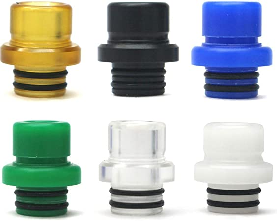 510 Drip Tip Blue Satelliter Drip Tip Universally Standard Stainless and Glass Drip Tip Connector for Ice Mod