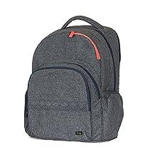 Lug Echo Multipurpose Backpack, Heather Black
