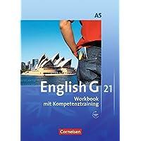 English G 21 - Ausgabe A / Band 5: 9. Schuljahr - 6-jährige Sekundarstufe I - Workbook mit Audios online: Mit Wörterverzeichnis zum Wortschatz der Bände 1-5