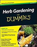 img - for Herb Gardening For Dummies by Karan Davis Cutler (2010-11-23) book / textbook / text book