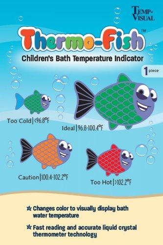 Thermo-Fish Children's Bath Temperature Indicator Sticker