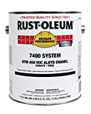 Rust-Oleum 7434402 John Deere Green High Performance 7400 System 450 VOC DTM Alkyd Enamel Paint, 1 gal Can (Pack of 2)