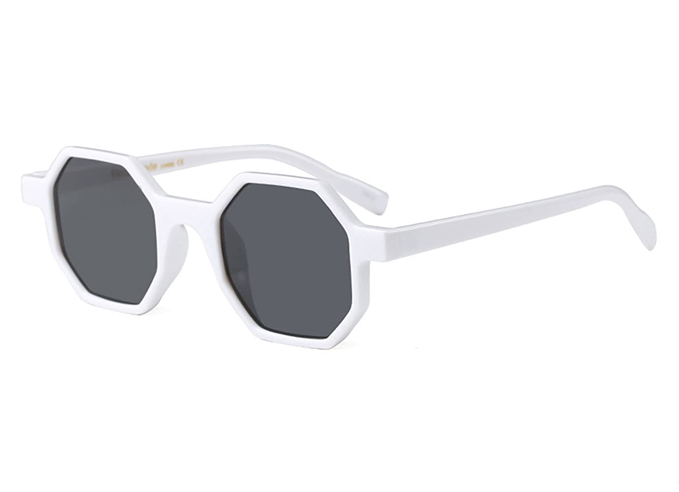 Hexagon Sunglasses for Women Men Small Square Geometric Frame Vintage Plastic Sun Protection Glasses Electronic products clothing gardening products