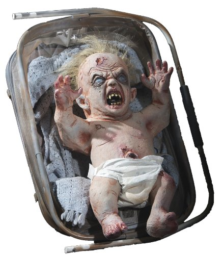 ZOMBIE BABY (Scary Baby Halloween Prop)