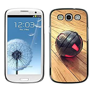 GagaDesign Phone Accessories: Hard Case Cover for Samsung Galaxy S3 - Metal Sphere by mcsharks