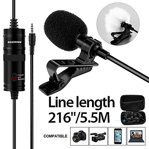 Professional Lavalier Lapel Video Microphone /216