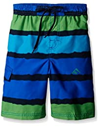 Boys' Voodoo Stripe Swim Trunk