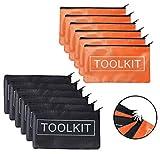 Oxford Tool Pouch Zipper Bag, 12 Pack Tool Zipper