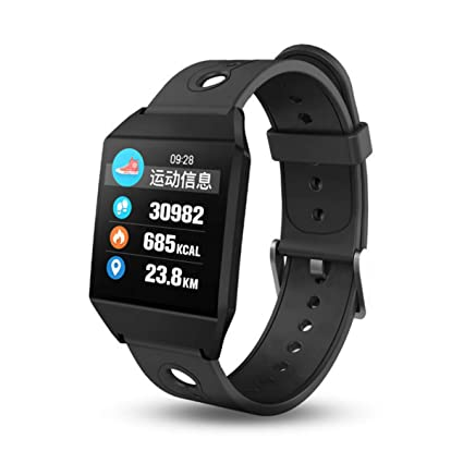 Amazon.com : Smart Watch with Fitness Tracker, Bluetooth ...