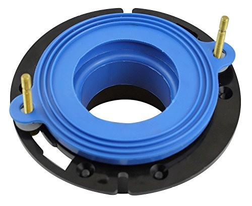 Flange Gasket Toilet - Fluidmaster 7530P8 Universal Better Than Wax Toilet Seal, Wax-Free Toilet Bowl Gasket
