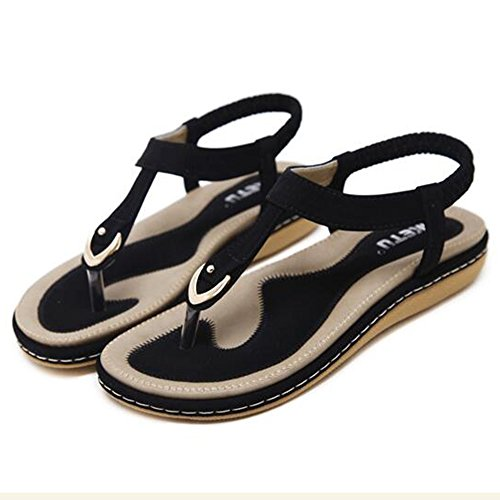 XIAOLIN サンダル女性夏ピンディファッション学生レトロクリップフットビーチシューズ4cmハイヒール(複数色使用可能)後に大きなサイズ(オプションのサイズ) (色 : 02, サイズ さいず : EU36/UK3.5/CN35)