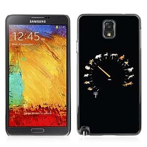 YOYOSHOP [Cool Animal Speedometer Illustration] Samsung Galaxy Note 3 Case