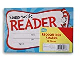 Dr. Seuss Cat in the Hat Recognition Awards Reading Certificates - 18 count