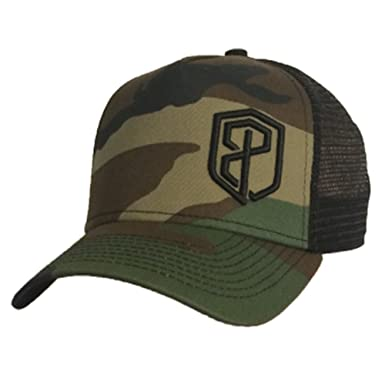 37fb26a8 Born Primitive Trucker Hat (Camouflage/Black): Amazon.co.uk: Clothing