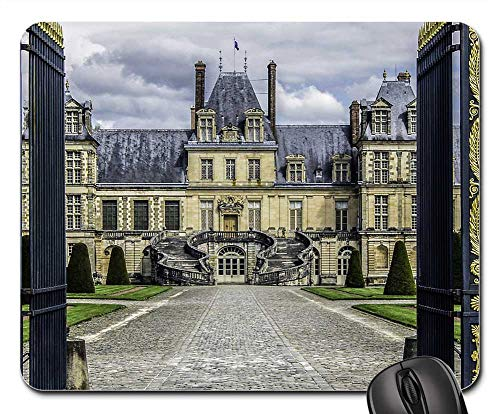 Mouse Pads - Castle of Fontainebleau Residence Royal French