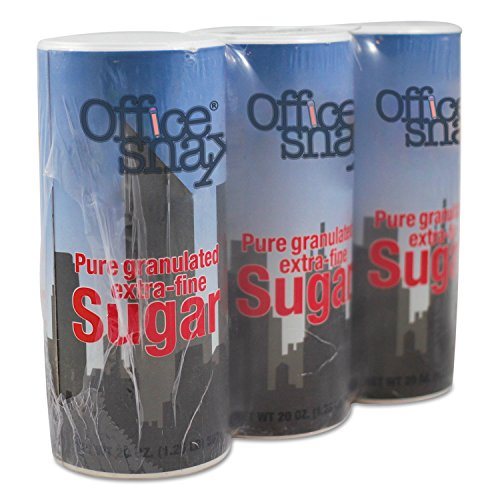 - OFX00019G - Reclosable Canister of Sugar