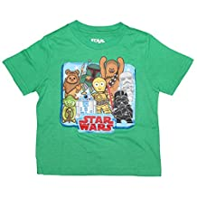 Star Wars Little Boys Group Shirt 2T-5T