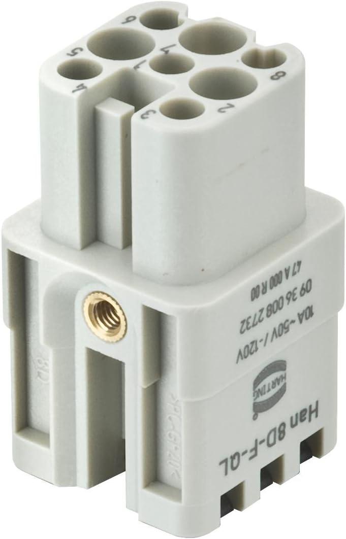 CN0967 Series Circular Connector Wall Mount Receptacle CN0967C22A12S7-040 12 Contacts CN0967C22A12S7-040
