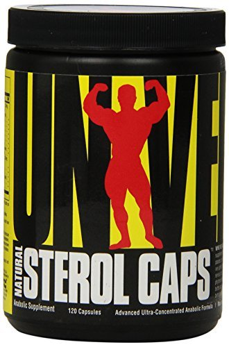 Universal Nutrition Natural Sterol Complex, 120-Count (Pack of 3)