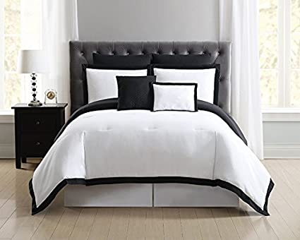 Amazon.com: Truly Soft Everyday Hotel Border Comforter Sets 7