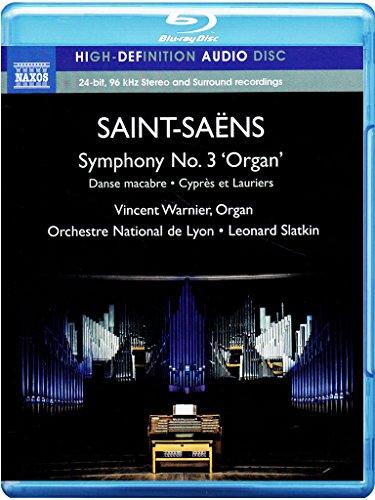 Sym 3 Organ Sym Danse Macabre Cypres Et Lauriers (Blu-ray Audio)