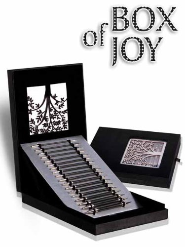 Knitter's Pride Box of Joy Limited Edition Set - Karbonz Interchangeable Needle Set by Knitters Pride