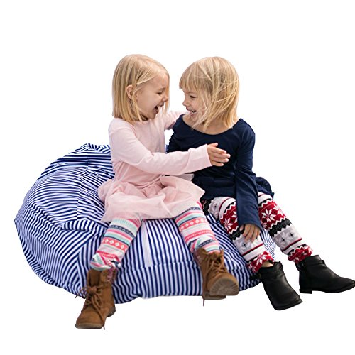 LARGE Stuffed Animal Bean Bag Storage - Premium Childrens Plush Toy Organizer Creative Solution for Kids (Blue) by Buddy Plush  sc 1 st  Amazon.com & Big Lots Bedroom Furniture: Amazon.com