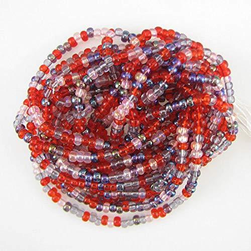 Jablonex Czech Seed beads 6/0 Mix melonberry Mini Hank