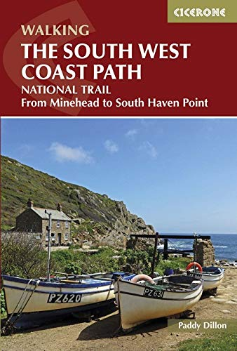 The South West Coast Path: From Minehead to South Haven Point (Cicerone Guides)