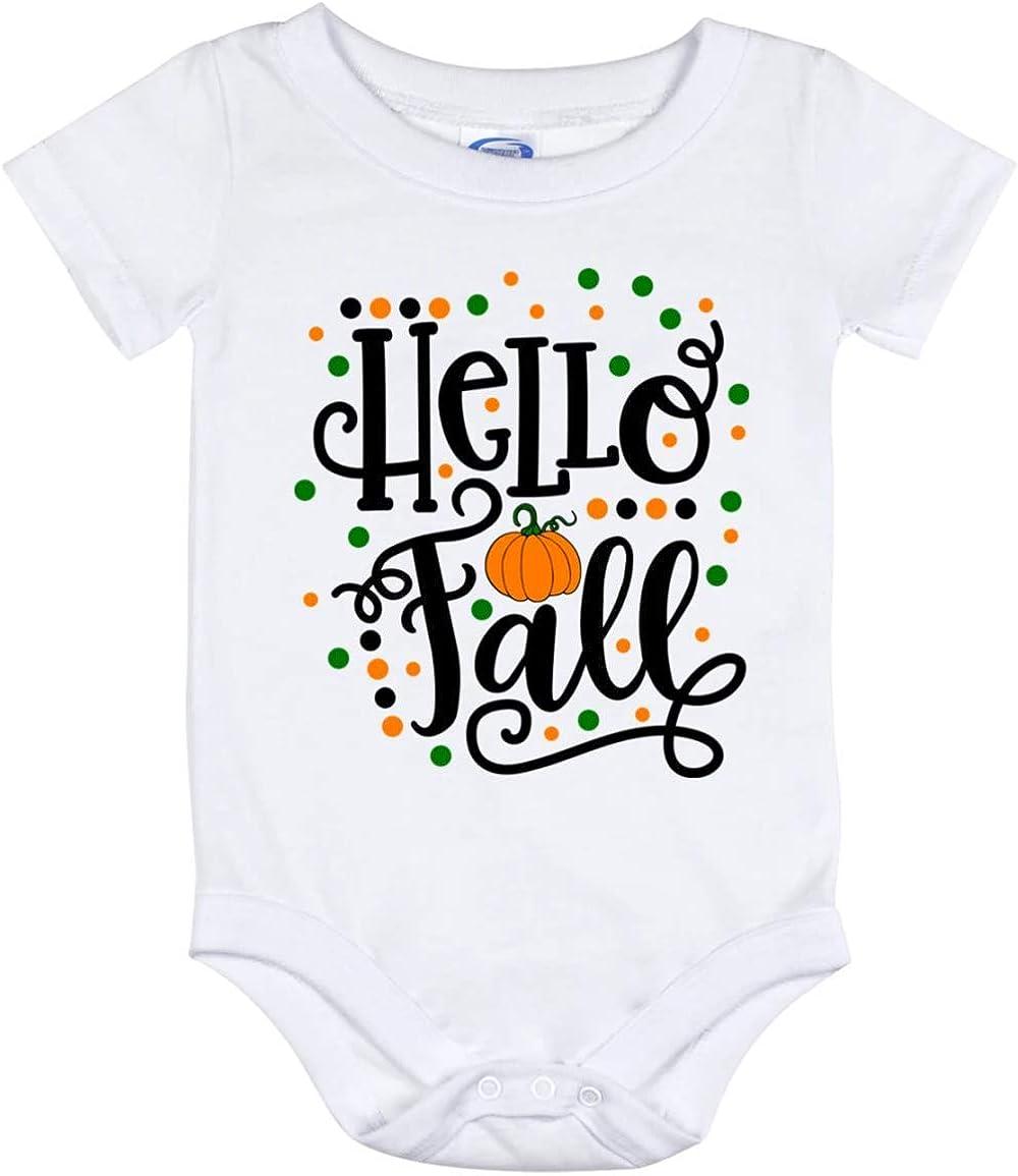 Hello Pumpkin Baby Bodysuit