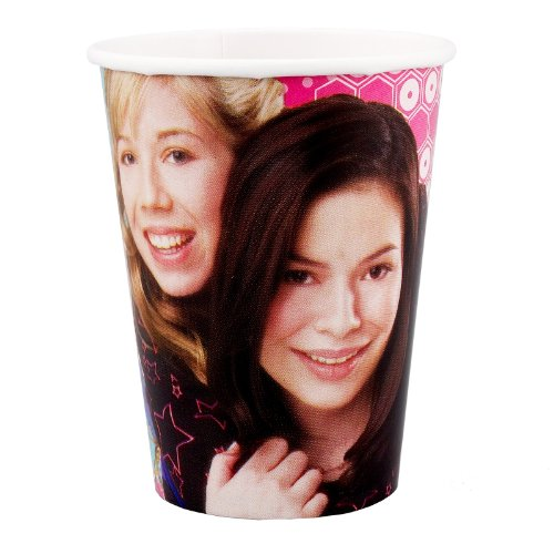 iCarly 9 oz. Paper Cups (8 - Icarly Cup