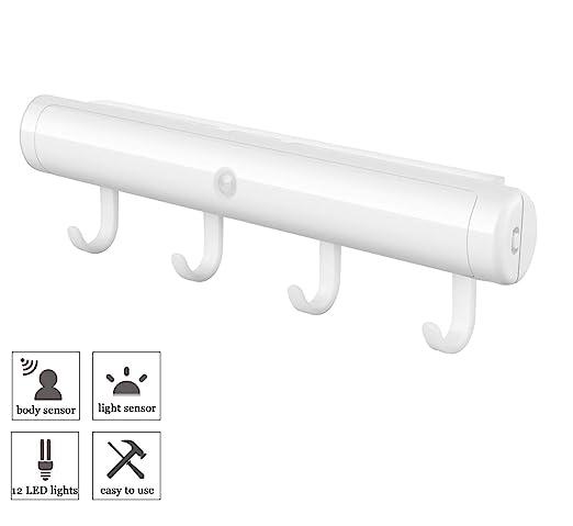 Homelife Motion Sensor Led Lights 3m Adhesives Under Cabinet Lighting Sxginbt Motion Sensor Closet Lights Wireless Usb Night Light With Hooks For