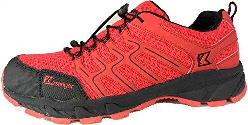 Kastinger Sleepagent 22350-511 Mannen Gemakkelijk Wandelschoenen Rood (rood / Zwart)