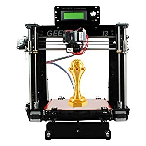 3d printer prusa i3 pro b acrylic frame new upgraded version high precision open source diy kits fdm 3d printer