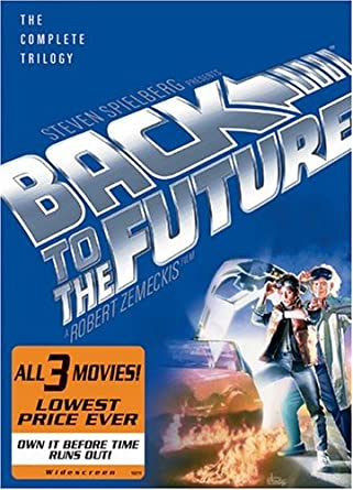 Amazon.com  Back to the Future  The Complete Trilogy  Michael J. Fox ... 34d8a4519