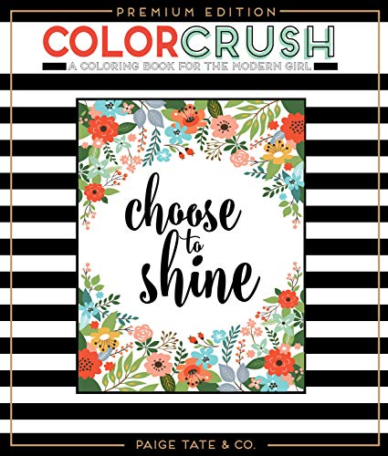 Donut Coloring Page (Color Crush: An Adult Coloring Book, Premium Edition (Inspirational Coloring, Journaling and Creative)
