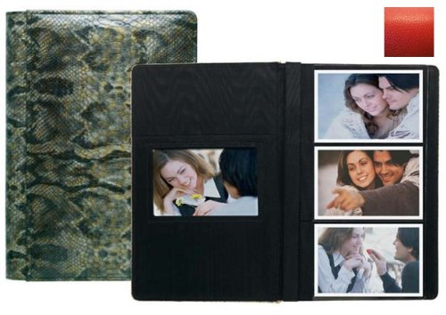 Raika RO 127 RED 4in. x 6in. Three High Photo Album - Red by Raika®