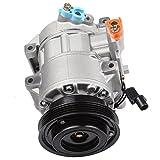#7: Scitoo Auto Repair Compressor Assembly CO 10980C, AC Compressor and A/C Clutch Kit for Kia Rio Rio5 1.6L 2006 2007 2008 2009 2010 2011