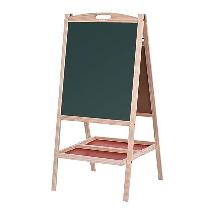 Large Wooden Blackboard Chalkboard Vintage Children/'s Educational Fold Up Easel
