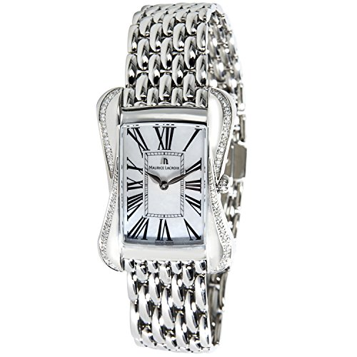 Maurice Lacroix Divina DV5012 Diamond Women's Watch in Stainless Steel (Certified Pre-owned)