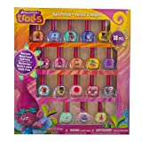 Toys : TownleyGirl Dreamworks Trolls Best Peel-Off Nail Polish, Deluxe Gift Set for Kids, 18 Count Colors, some with Glitter