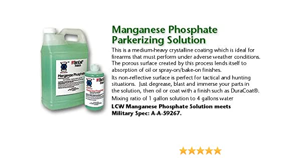 Amazon LCW MPS16 Manganese Phosphate Parkerizing Solution 16oz Health Personal Care