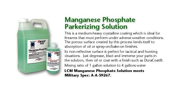 Amazon LCW MPS128 Manganese Phosphate Parkerizing Solution 128oz Health Personal Care