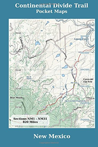 Buy Continental Divide Trail Pocket Maps New Mexico Book Online At