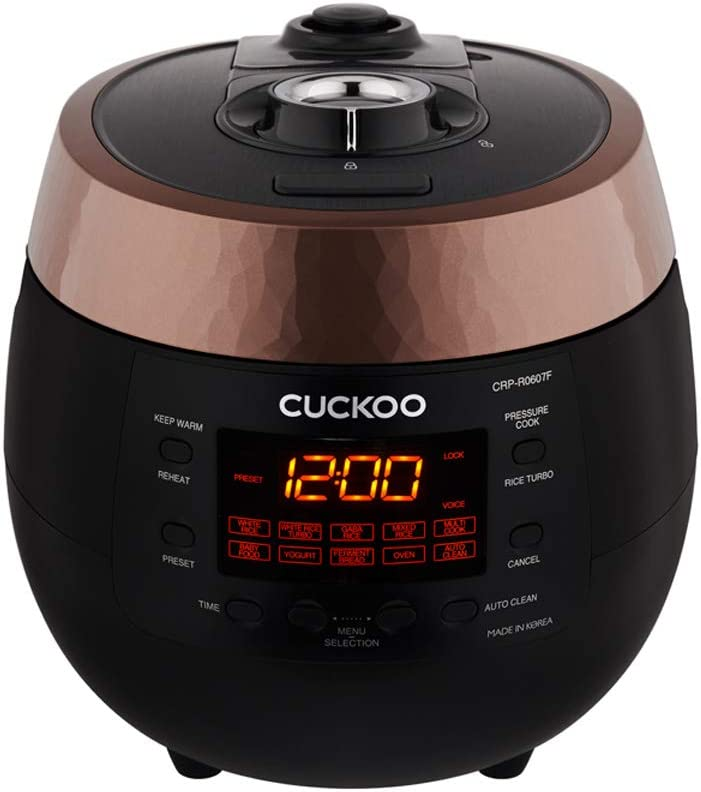 CUCKOO, 2019 Dec new model, HP(Heating Plate) Pressure Rice Cooker with Multi cooking function: Amazon.es: Electrónica