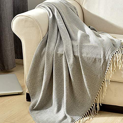 Amazon.com: GSJJ - Manta para sofá, de punto, estilo nórdico ...